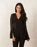 Keepsake Black Great Perhaps Top