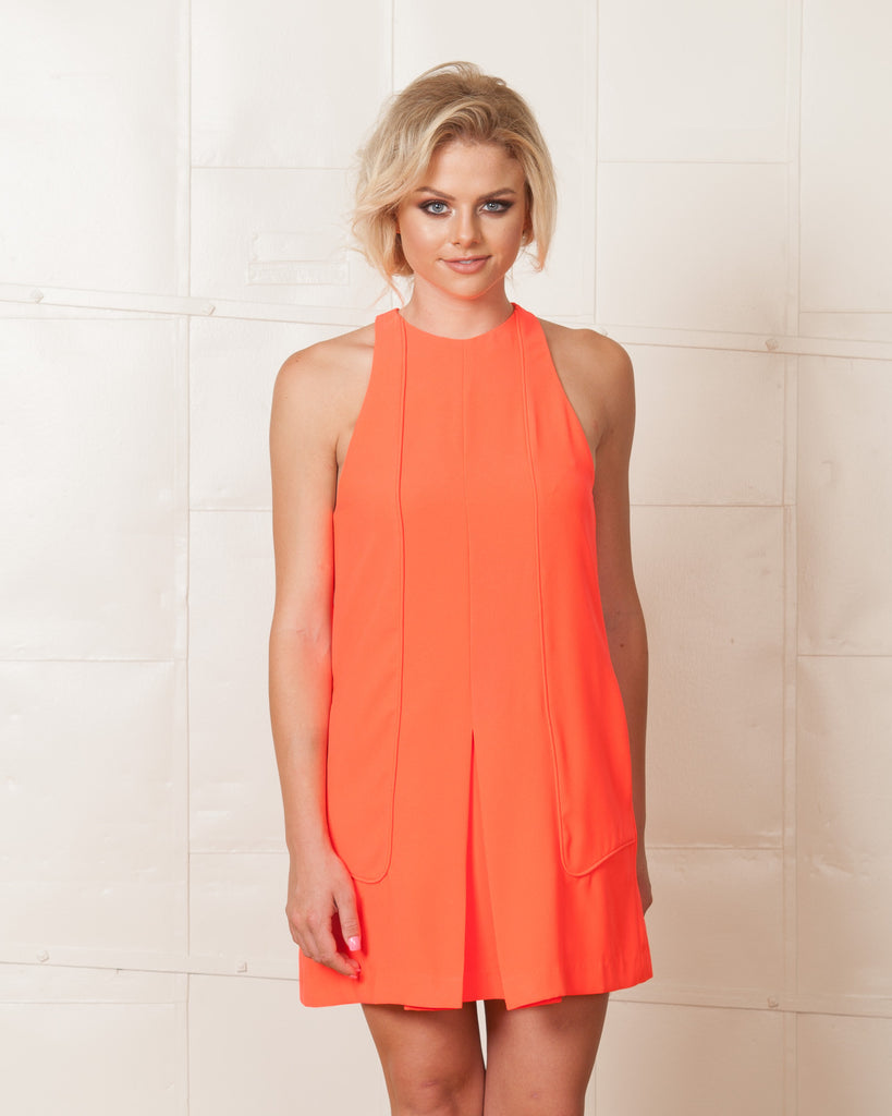 Finders Keepers No-one Like You Sherbert Dress