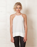 Minkpink New Beginnings White Cami