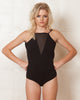 Minkpink Black Midnight Madness Bodysuit