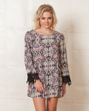 Glamorous Floral Shift Dress