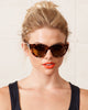 QUAY KITTI SUNGLASSES-TORTOISE