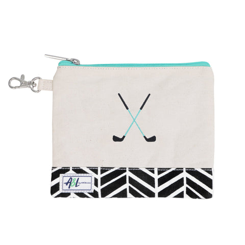 Brigsby Crossed Club Tee Pouch