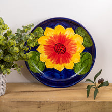 Load image into Gallery viewer, Sunflower - Large Shallow Bowl
