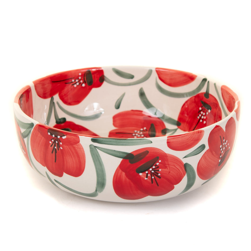 Poppy - Large Salad Bowl