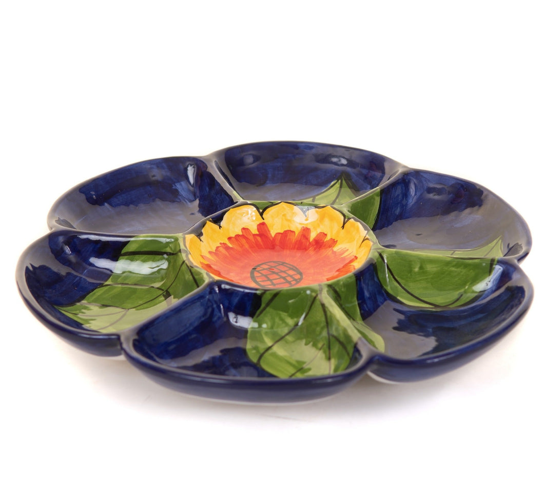 Sunflower - Large Platter Plate