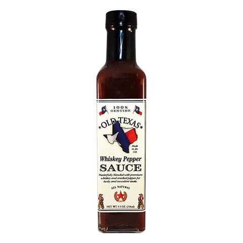 Whiskey Pepper Sauce 250ml