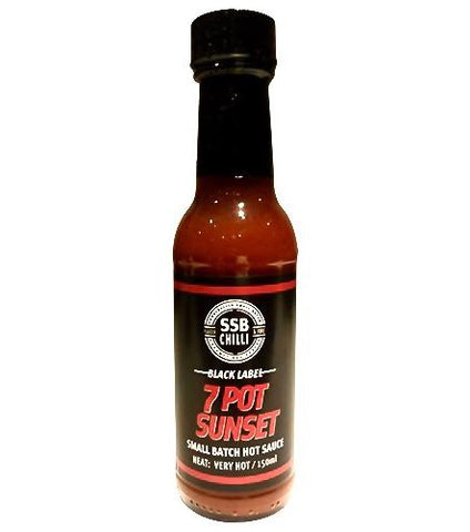 7 Pot Sunset Hot Sauce 150ml