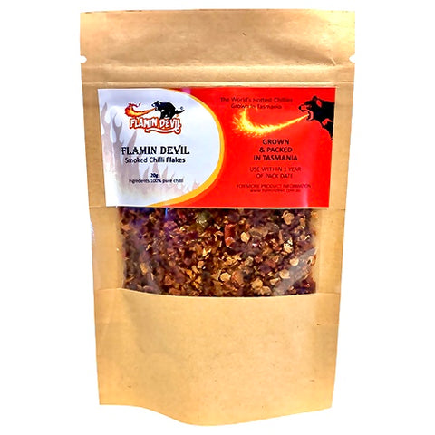 Smoked Chilli Flakes 20g