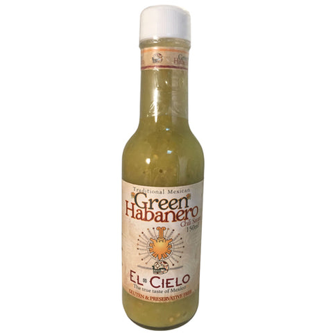 Green Habanero Chili Sauce 150ml