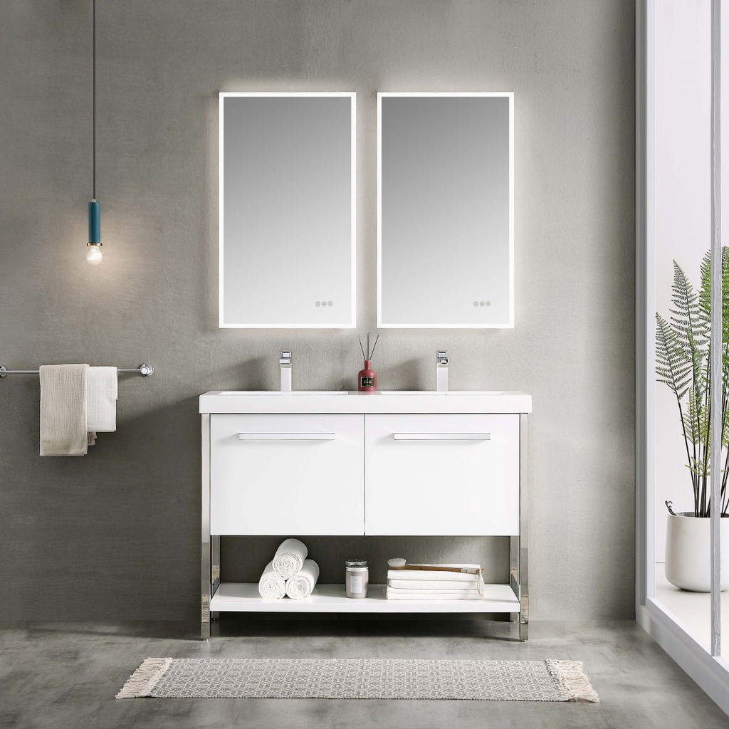 Riga 48 Inch Vanity – Double Sinks