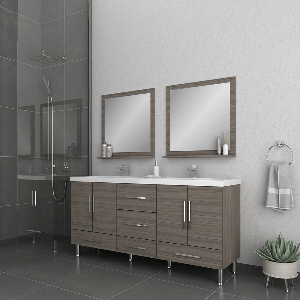 Ripley 67 inch Gray Double Vanity with Sink