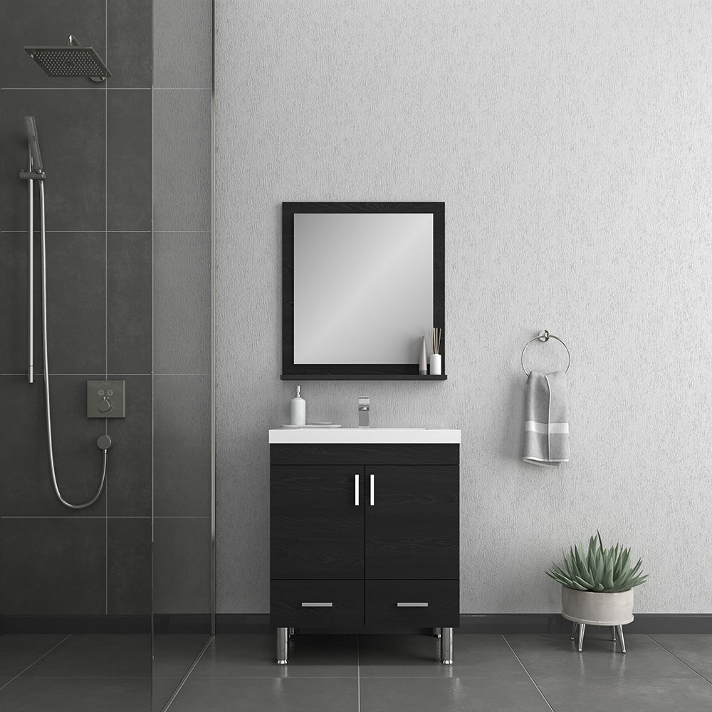 Ripley 30 inch Black Vanity with Sink