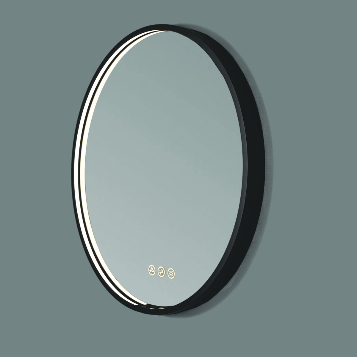 Oskar 36 Inch Round LED Mirror