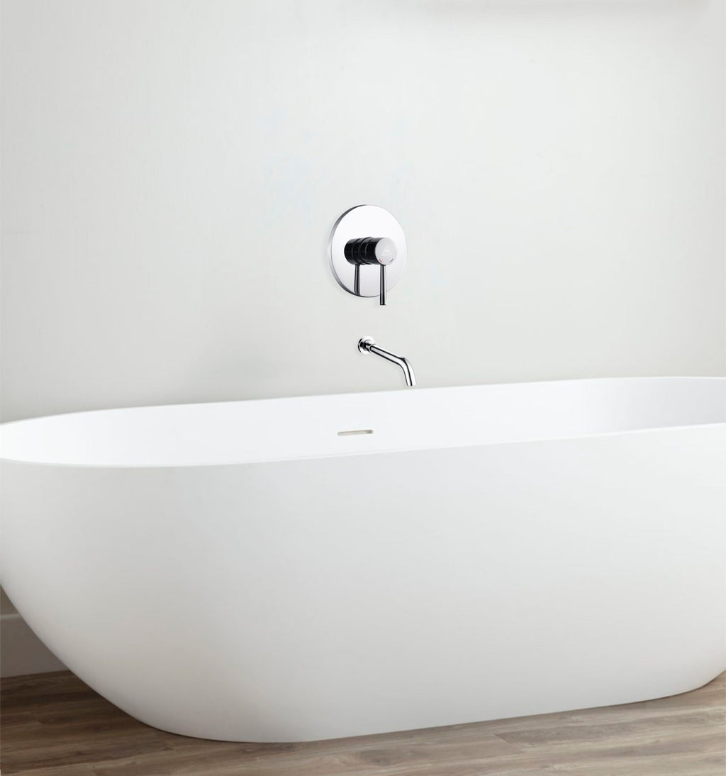 Aqua Rondo Tub Filler w/ Rough-In Valve