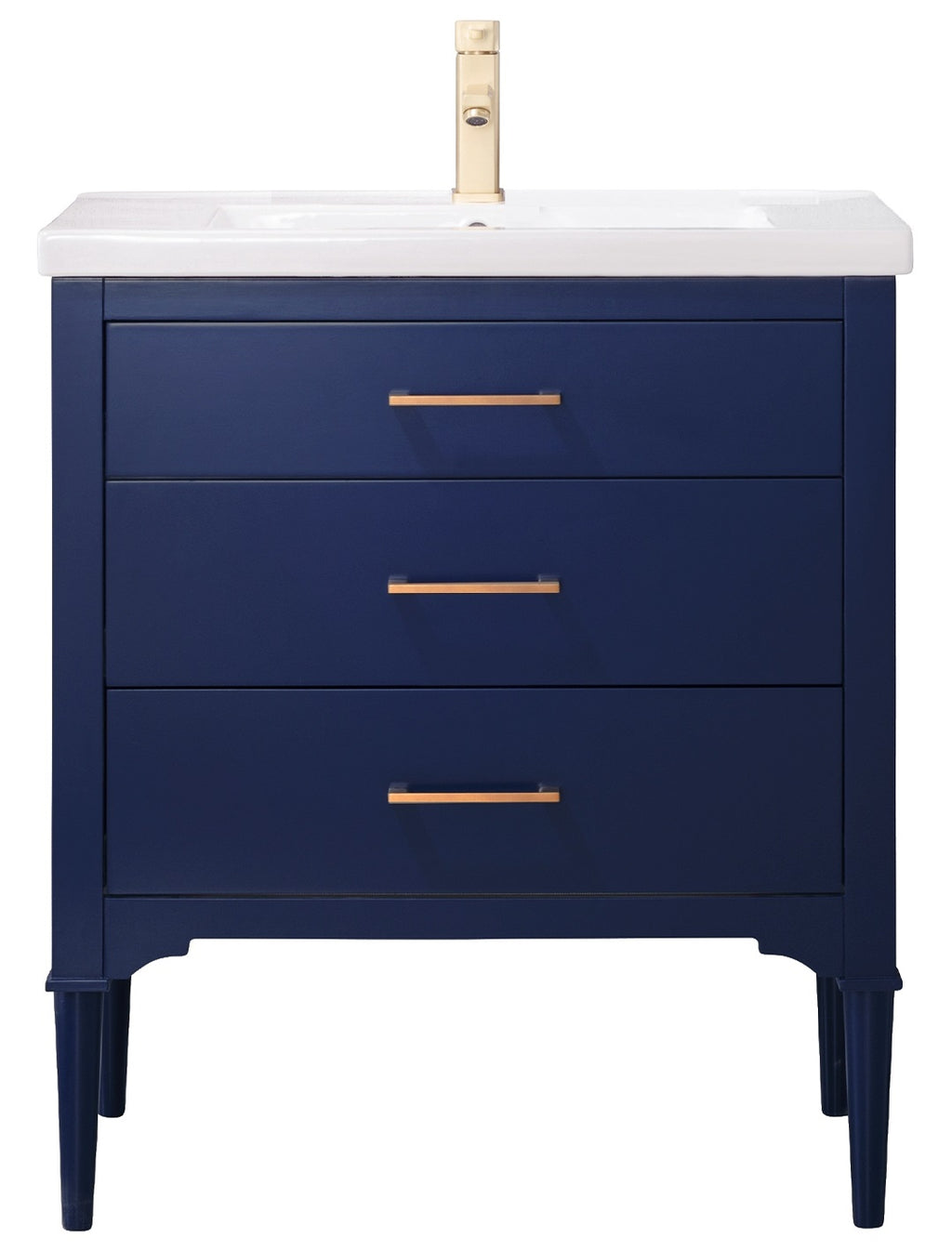 "Mason 30"" Single Sink Vanity In Blue"