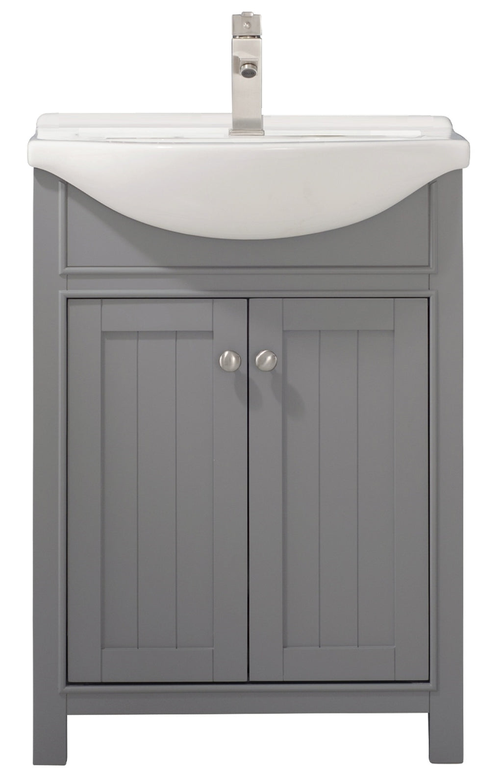 "Marian 24"" Single Sink Vanity In Gray"
