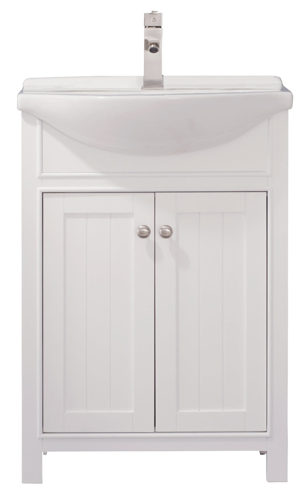 "Marian 24"" Single Sink Vanity In White"