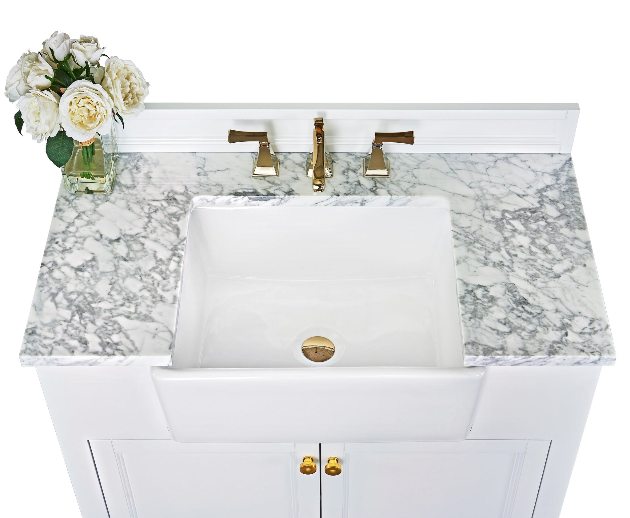 Adeline 36 in. Bath Vanity Set in White