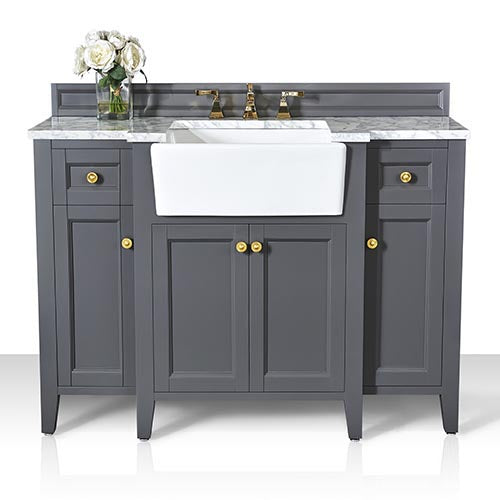 Adeline 48 in. Bath Vanity Set in Sapphire Gray