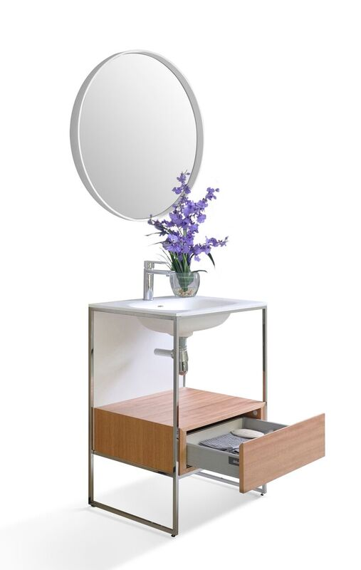 Tory 24 in. Bath Vanity Set in White