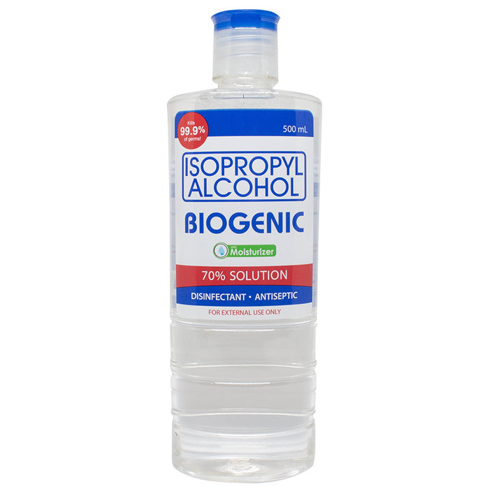 Biogenic Alcohol Isopropyl 70% 500ML