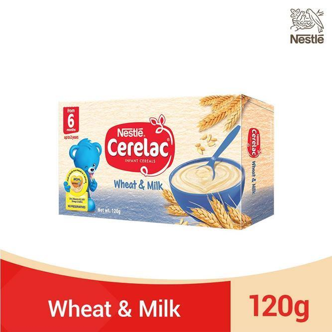 NESTLÉ CERELAC Baby Food Wheat & Milk 120g