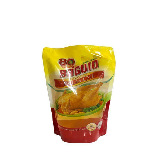 Baguio Premium Palm Oil 900ML Stand Up Pouch