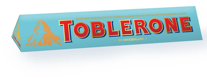 Toblerone Swiss Milk Chocolate Crunchy Almond 100G