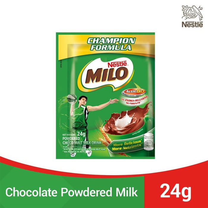 MILO ACTIV-GO Winner Choco Malt Powdered Milk Drink 24g