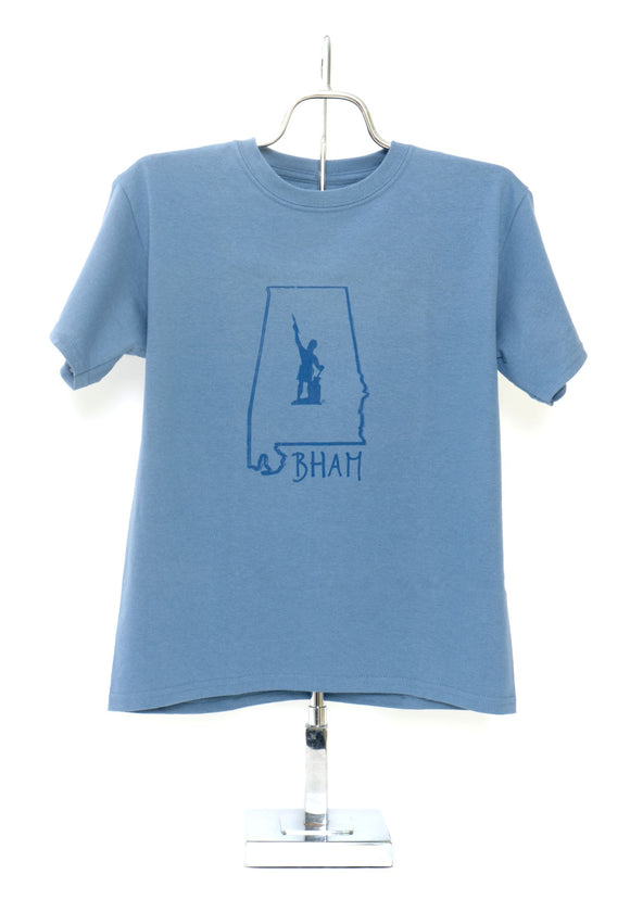 Vulcan BHAM Short Sleeve T-Shirt Toddler and Youth Blue