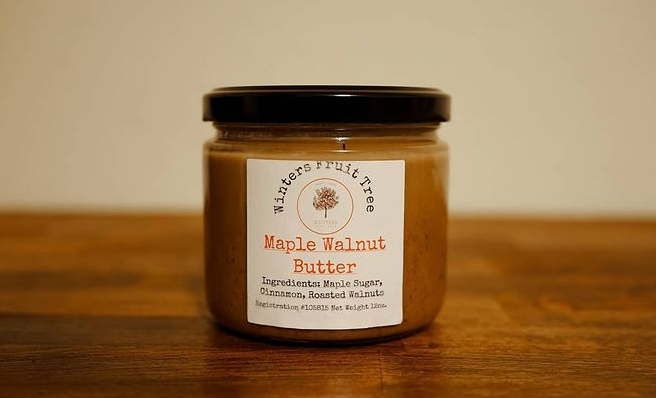 Winters Fruit Tree Maple Walnut Butter