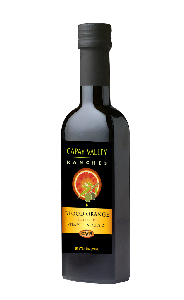 Blood Orange Infused Olive Oil by Capay Valley Ranches