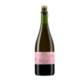 Bottle Of Turkovich Sparkling Rose NV