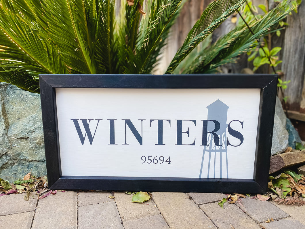 Winters Sign