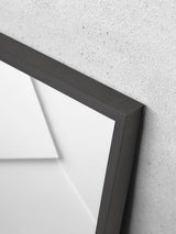 Alu Frame A4 - Black - Glass