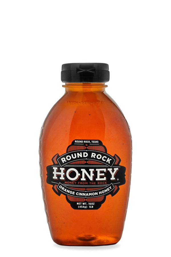 Orange Cinnamon Honey (1lb)