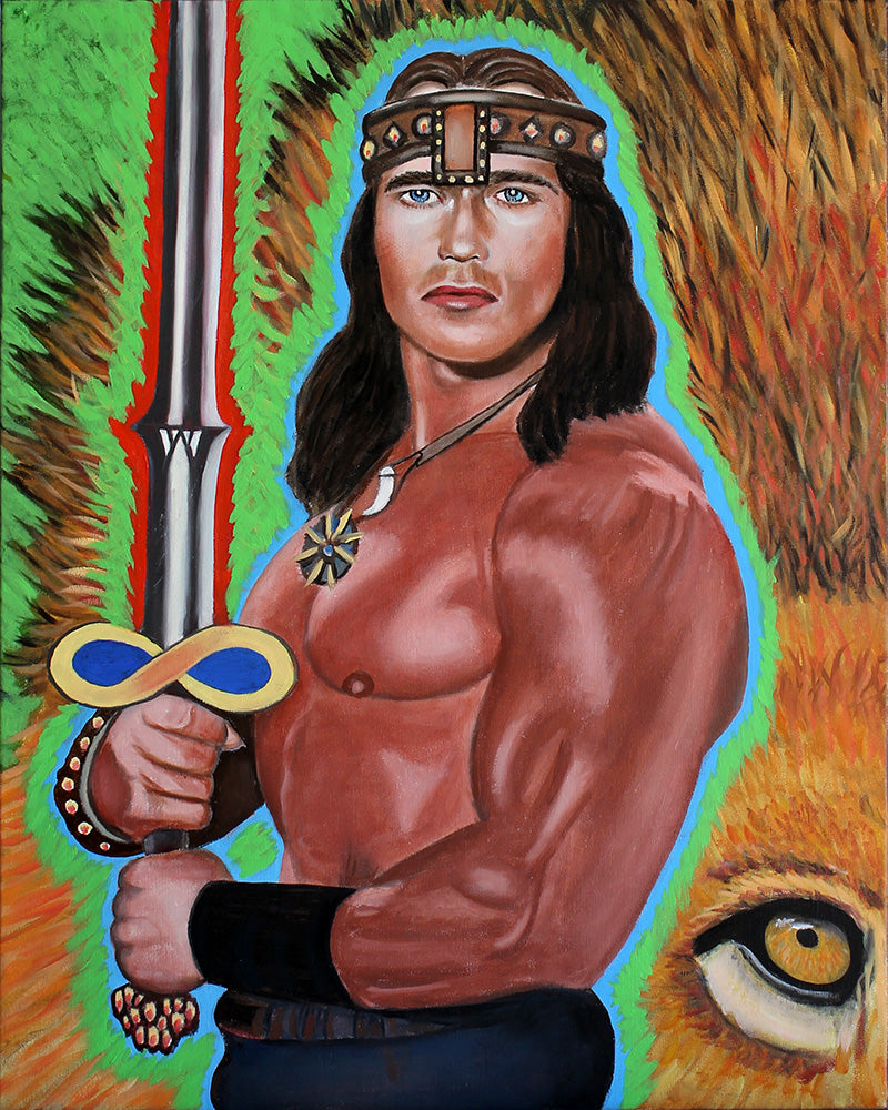 Tarot - Arnold Schwarzenegger as Strength