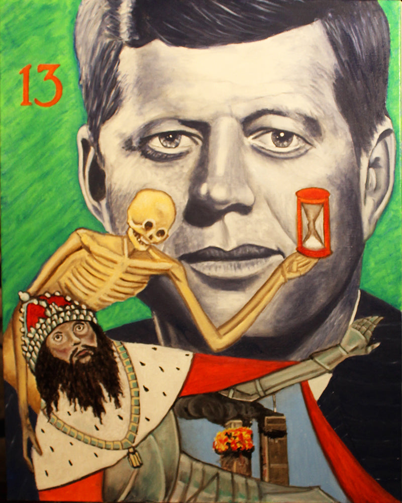 Tarot - JFK as Death - Killing of the King