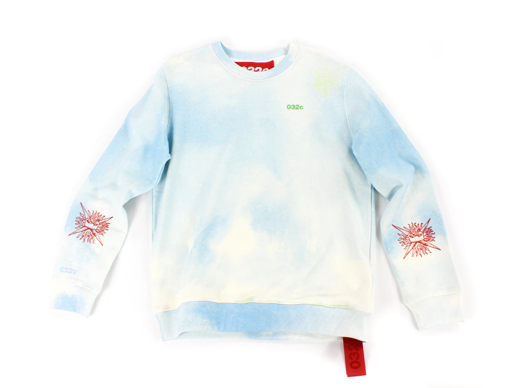 032c Acid Wash Crewneck Jumper [S] - 1NE.derby