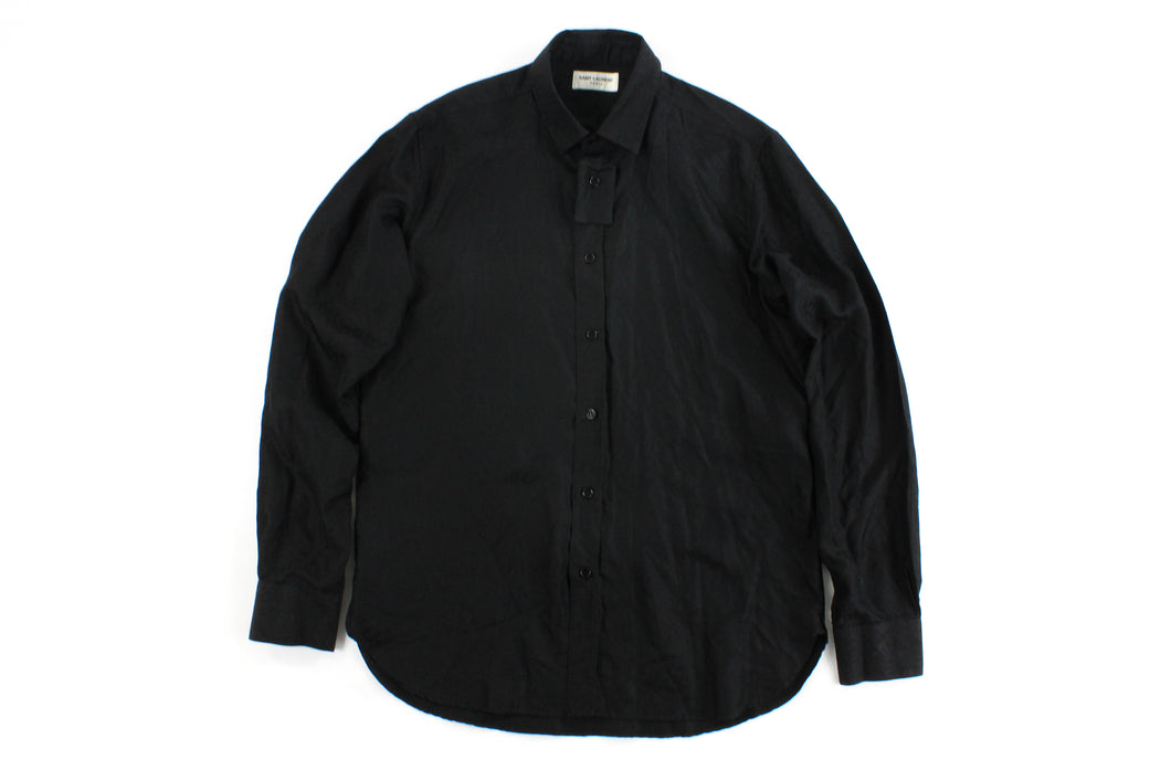 Saint Laurent (YSL) Silk Shirt [L] Mens - 1NE.derby