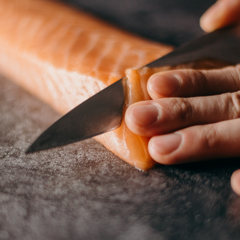 Sushi Lachs Messer
