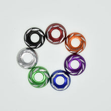 Load image into Gallery viewer, 10pcs M6 multi-color aluminum alloy  Washers for motorcycle modification and decoration