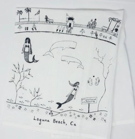 Laguna Beach Kitchen Towel