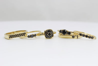 Halloween Inspiration: Jewelry with Black Diamonds
