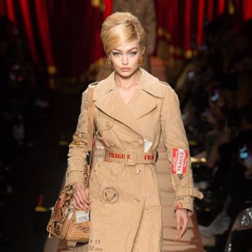 Moschino's Recycled Fashion - Fashion Week Milan