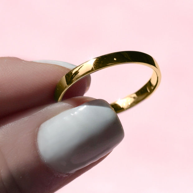 Becky Comfrort Gold Ring