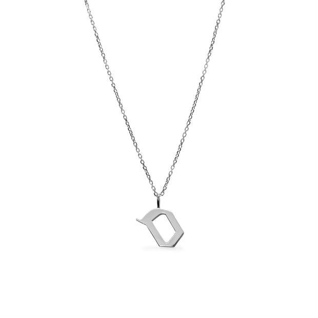 Aleph-Bet Silver 925 Necklace