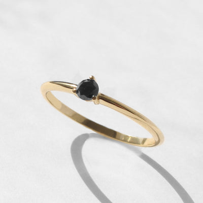 Khalo Ring black diamond