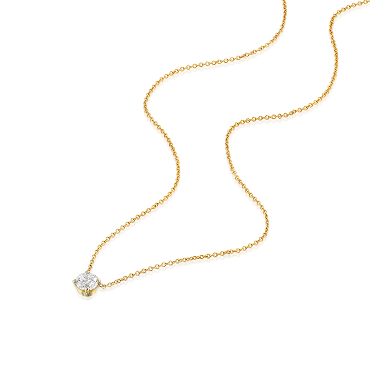 Marie Necklace White Diamonds
